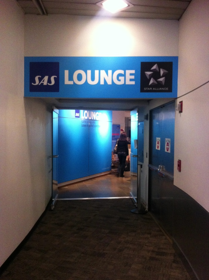 Entrance To SAS Business-Class and Lufthansa First-Class Lounges