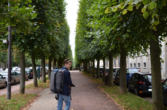 Walk to Trianon Palace Versailles
