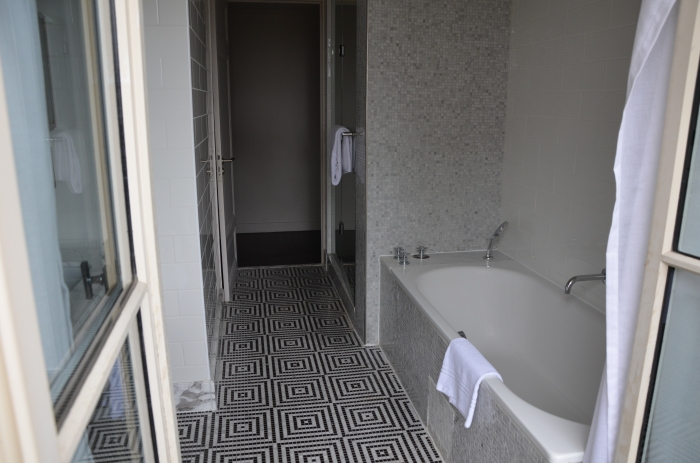 Separate Tub and Shower. Marble Floors!