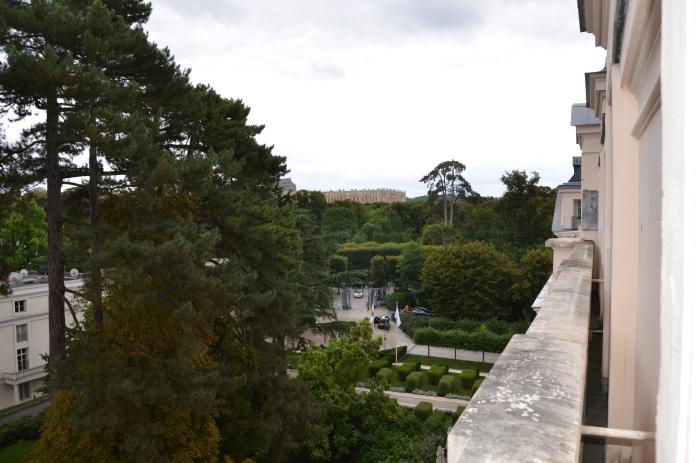 View of Versailles.