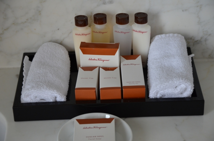 Salvatore Ferragamo Toiletries!