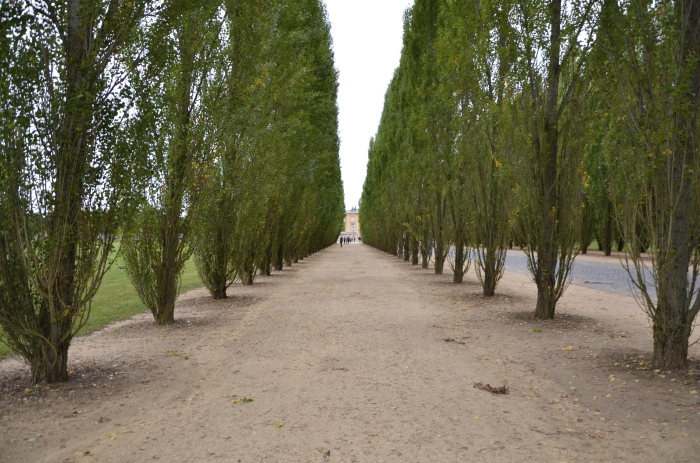 This is  a bicycle/walking path to Le Grand Trianon