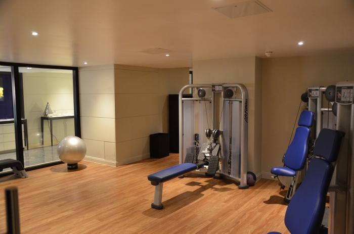 Weight Room.
