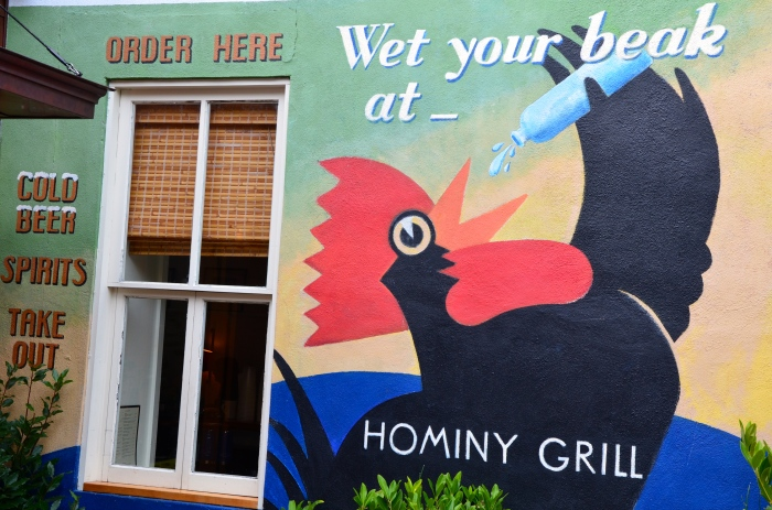 The brunch at Hominy Grill is superb.