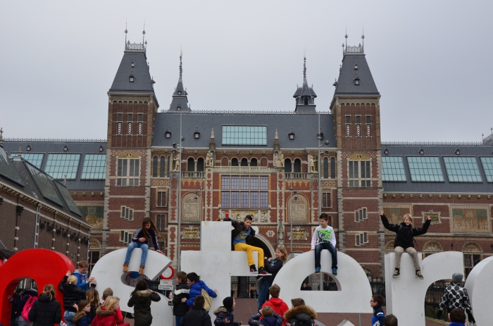 I am Amsterdam sign in front of the Rijksmuseum