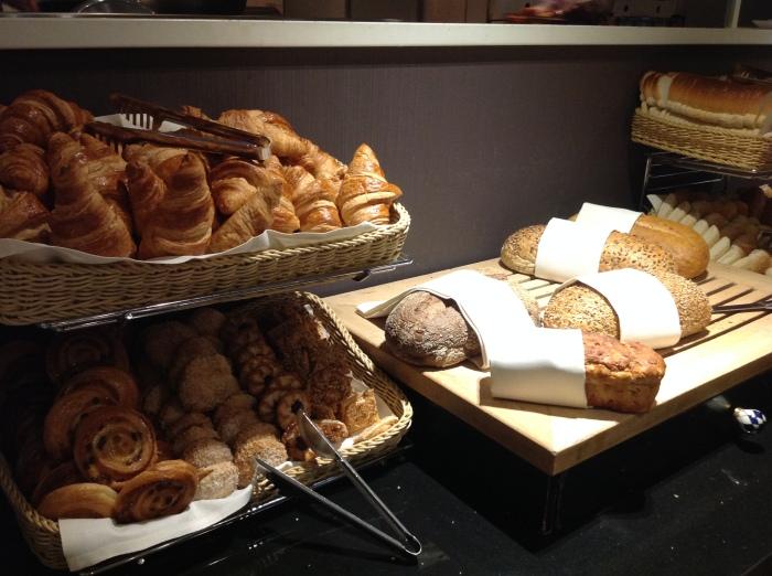 Fresh pastries.