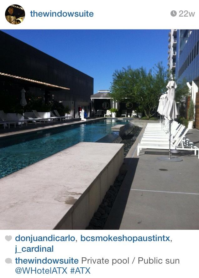 W Austin Pool - so, so nice.