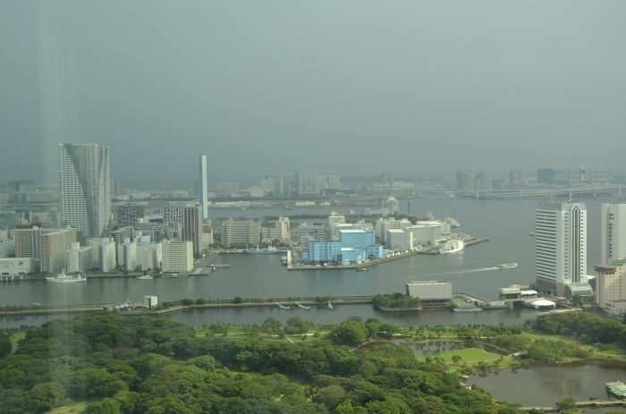 Tokyo Bay view.