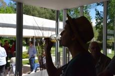 Champagne tasting at Bodega Chandon