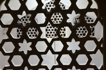 Islamic geometric art in the Sultan's Palace.