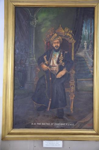 The last Sultan.